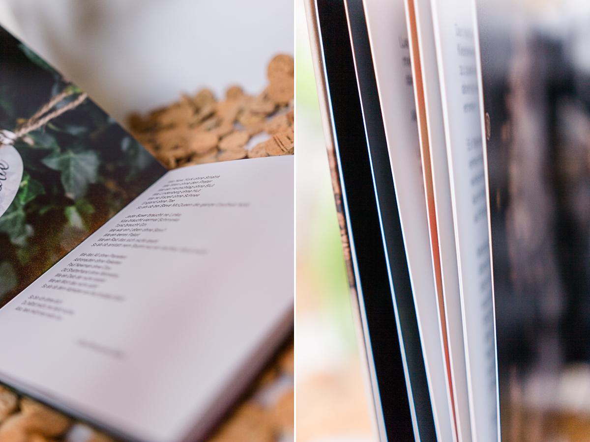 Buch zu freien Trauungen mit der Trautante Friederike Delong Seitenansicht
