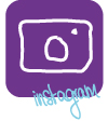 social media icon der trautante instagram