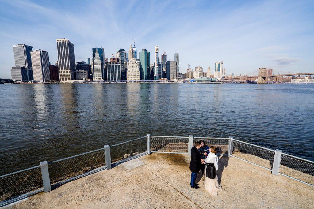 freie trauung in New York mit friederike delong als traurednerin aka trautante