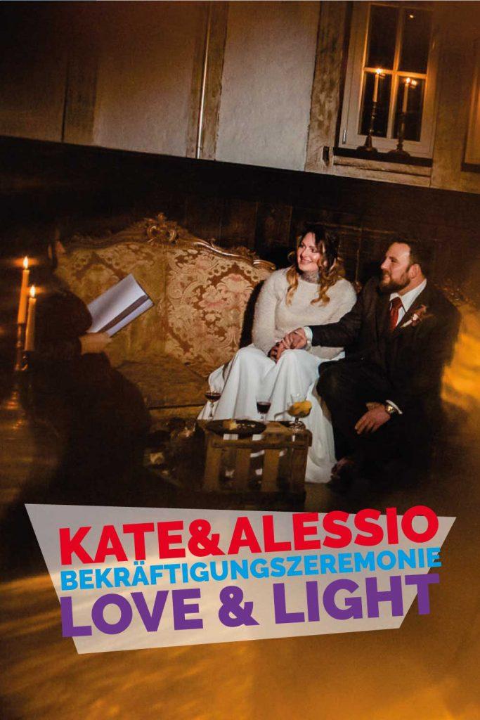 Bekräftigungszeremonie BEZZI mit freie Trauung bei Hochzeit mit Traurednerin Trautante Friederike Delong von Hochzeitsfotograf Steven Herrschaft