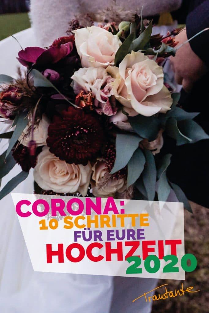 corona hochzeit virus verschieben angst pandemie krank desinfektionsmittel klopapier braut bräutigam verzweiflung 10 schritte